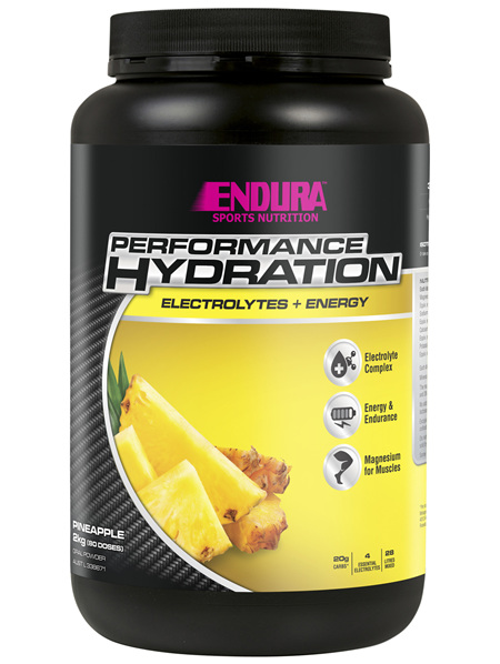 Endura Rehydration Performance Fuel Pineapple 2kg
