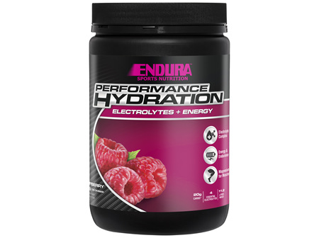 Endura Rehydration Performance Fuel Raspberry 800g