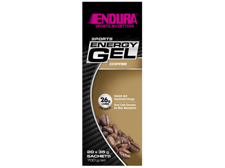 Endura Sports Energy Gel Coffee 20 x 35g Sachets