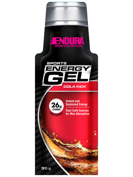 Endura Sports Energy Gel Cola Kick 35g Sachet