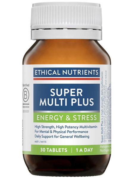 Energy & Stress Super Multi Plus 30 Tablets