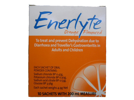 Enerlyte Orange 10 Sachets