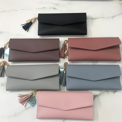 Envelope Tassel Wallet