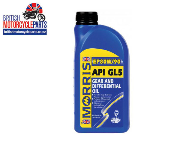EP 80W-90 Gearbox Oil GL5 Morris Lubricants Hypoid Gearbox OIl