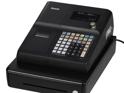 SAM4s ER260 Raised Key Small Drawer