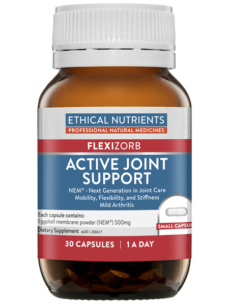 Ethical Nutrients Active Joint Support 30 Capsules