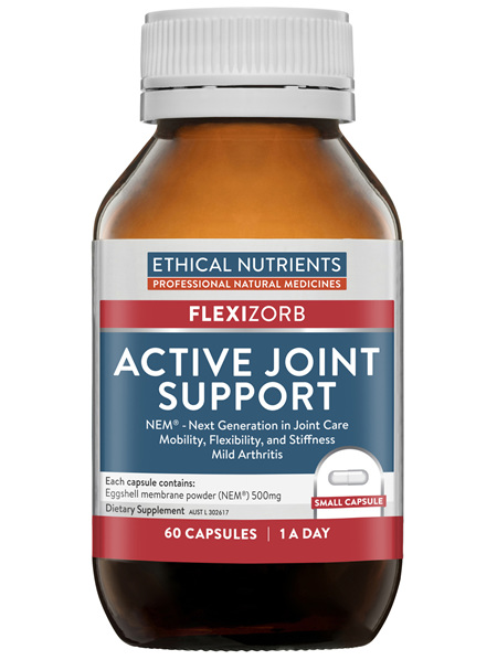 Ethical Nutrients Active Joint Support 60 Capsules