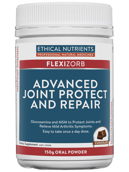 Ethical Nutrients Advanced Joint Protect and Repair Chocolate 150g Powder