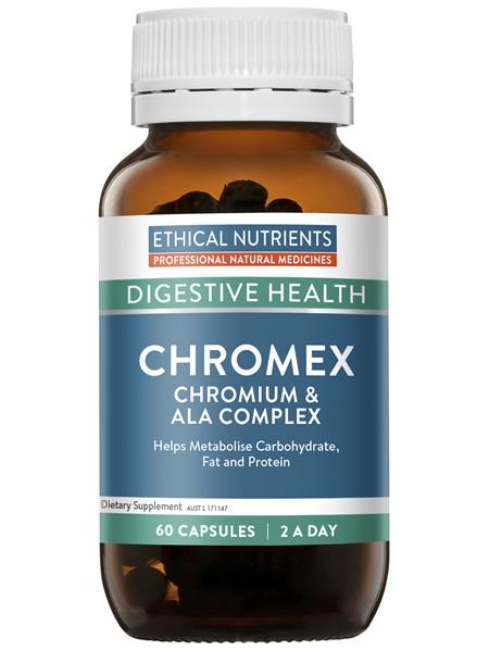 Ethical Nutrients Chromex Chromium & ALA Complex 60 Capsules