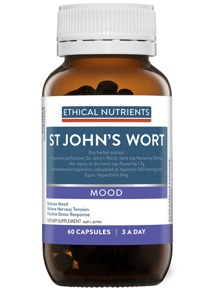 Ethical Nutrients Clinical Strength St John's Wort 60 Capsules