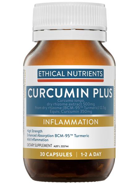 Ethical Nutrients Curcumin Plus 30 Capsules