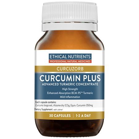 ETHICAL NUTRIENTS Curcumin Plus 30caps