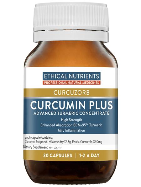 Ethical Nutrients CURCUZORB Curcumin Plus 30 Capsules