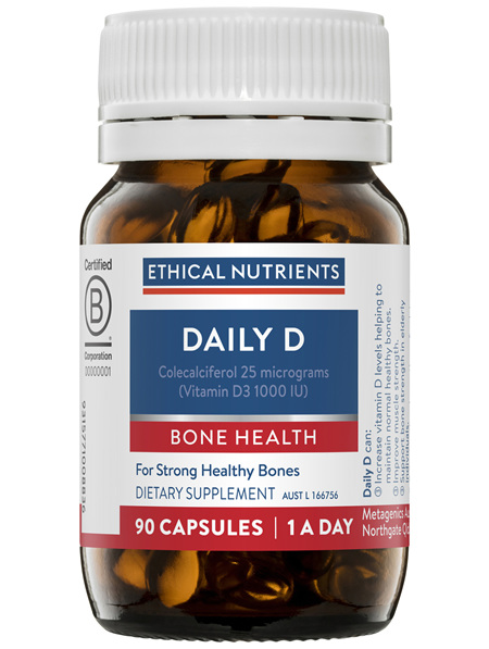 Ethical Nutrients Daily D 90 Capsules
