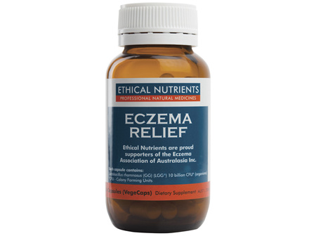 Ethical Nutrients Eczema Relief 60 Capsules