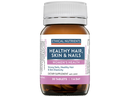 Ethical Nutrients Healthy Hair, Skin & Nails 30 Tablets