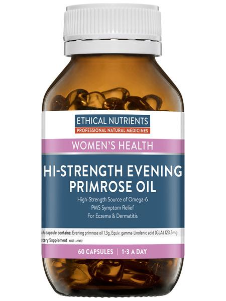 Ethical Nutrients Hi-Strength Evening Primrose Oil 60 Capsules