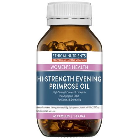 ETHICAL NUTRIENTS Hi-Strength Evening Primrose Oil 60caps