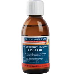 ETHICAL NUTRIENTS Hi-Strength Liquid Fish Oil 170ml
