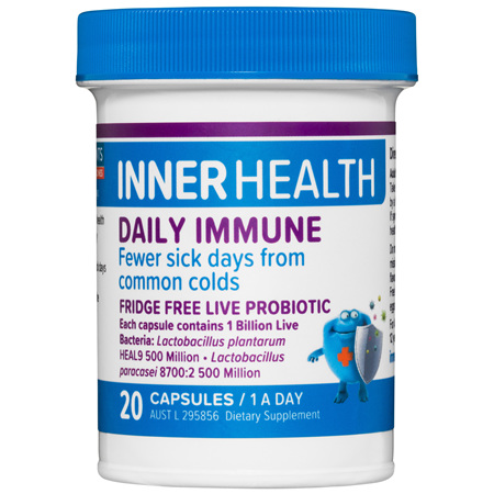 ETHICAL NUTRIENTS Inner Health Daily Immune 20cap