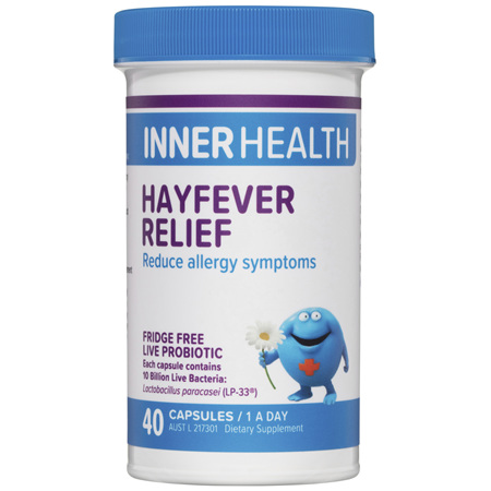 ETHICAL NUTRIENTS Inner Health Hayfever Relief 40cap