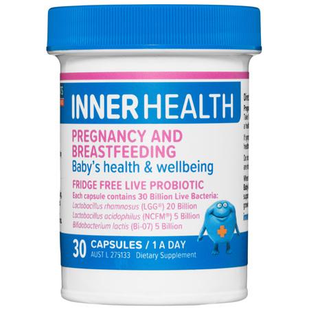 ETHICAL NUTRIENTS Inner Health Pregnancy & Breastfeeding 30cap