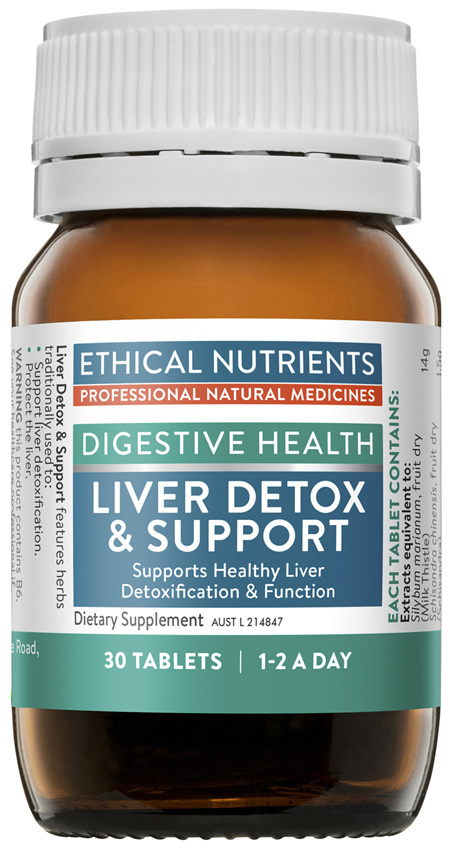 Ethical Nutrients Liver Detox & Support 30 Tablets