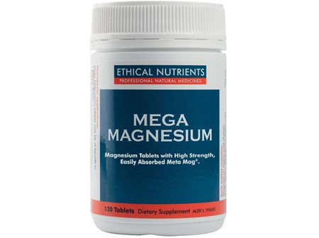 Ethical Nutrients Mega Magnesium Tablets 120s