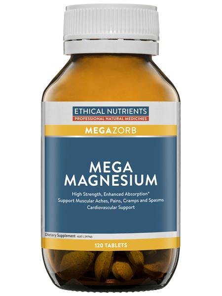 Ethical Nutrients MEGAZORB Mega Magnesium 60 Tablets