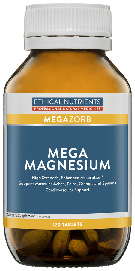 Ethical Nutrients MEGAZORB Mega Magnesium 60 Tablets