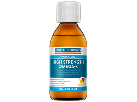 Ethical Nutrients OMEGAZORB High Strength Omega-3 Fruit Punch 170mL