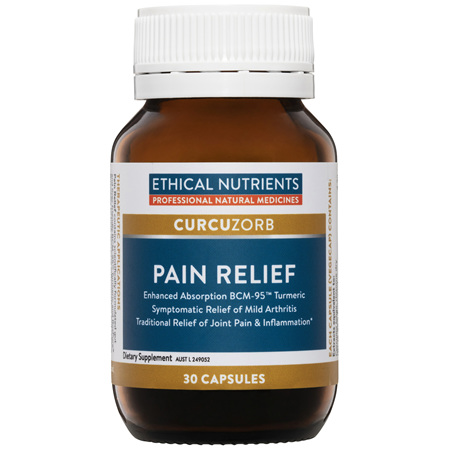 ETHICAL NUTRIENTS Pain Relief 30caps