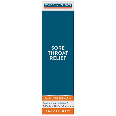 ETHICAL NUTRIENTS Sore Throat Relief 25ml