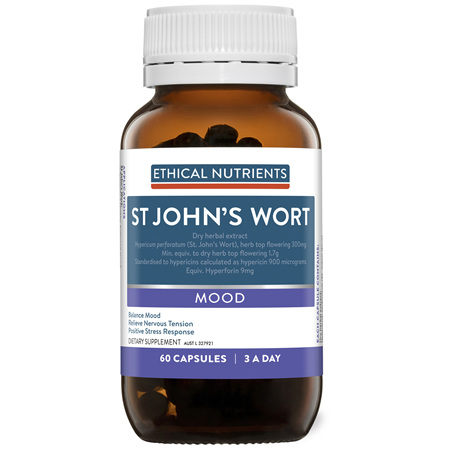 ETHICAL NUTRIENTS St Johns Wort 60caps