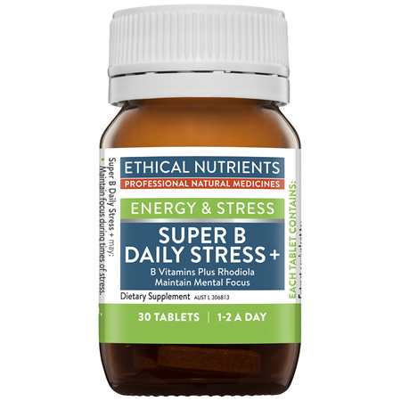 ETHICAL NUTRIENTS Super B Daily Stress+ 30tabs