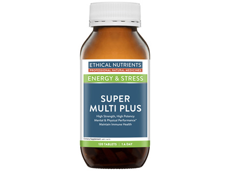Ethical Nutrients Super Multi Plus 120 Tablets