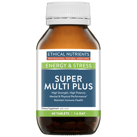 Ethical Nutrients Super Multi Plus 60 Tablets