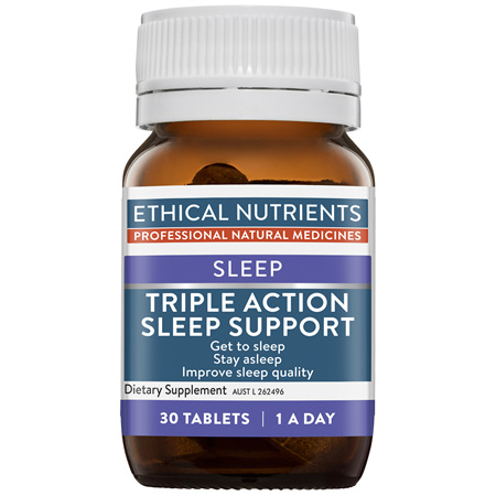 ETHICAL NUTRIENTS Triple Action Sleep Support 30tabs