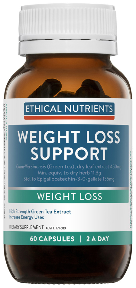 Ethical Nutrients Weight Loss Support 60 Capsules