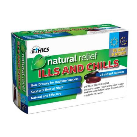 ETHICS ILLS & CHILLS 24 TABS