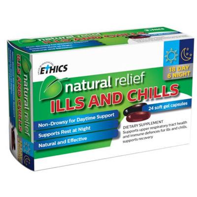 ETHICS ILLS  CHILLS 24 TABS