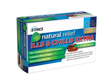 ETHICS ILLS & CHILLS EXTRA 24 tabs