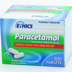Ethics Paracetamol - 100 tablets