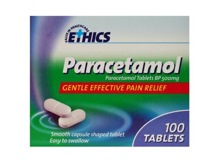 Ethics Paracetamol 500mg 100 Tab