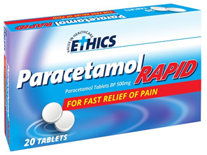ETHICS Paracetamol Rapid 100 Caplet