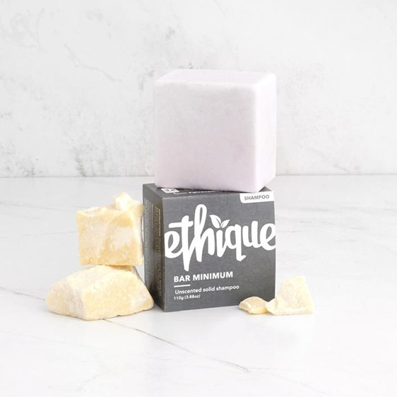 Ethique Bar Minimum Unscented solid shampoo 110g
