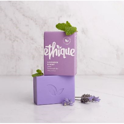ETHIQUE Body Wash Bar Lavender & Mint 120g