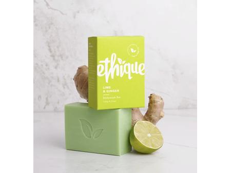 ETHIQUE B/Wash Bar Lime&Ginger 120g