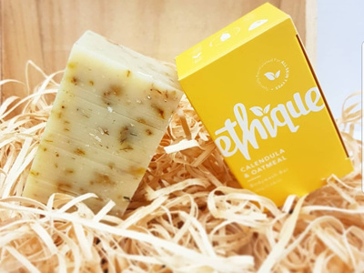 Ethique Calendula & Oatmeal Bodywash Bar