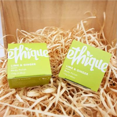 Ethique Lime & Ginger Body Polish